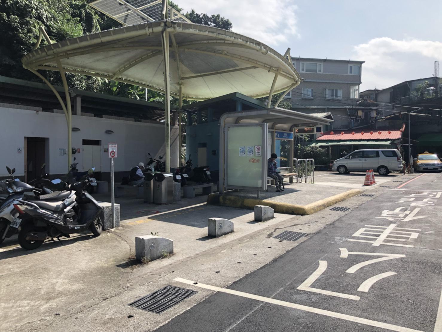 公車總站也接污水管!