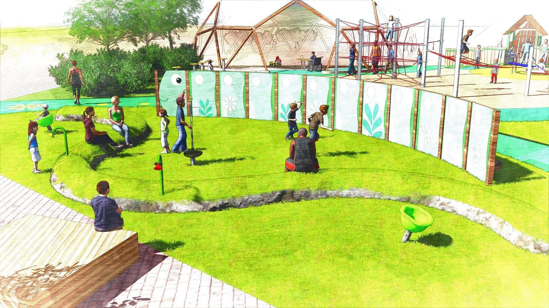 圖2、工作坊啟動前造型表演舞台