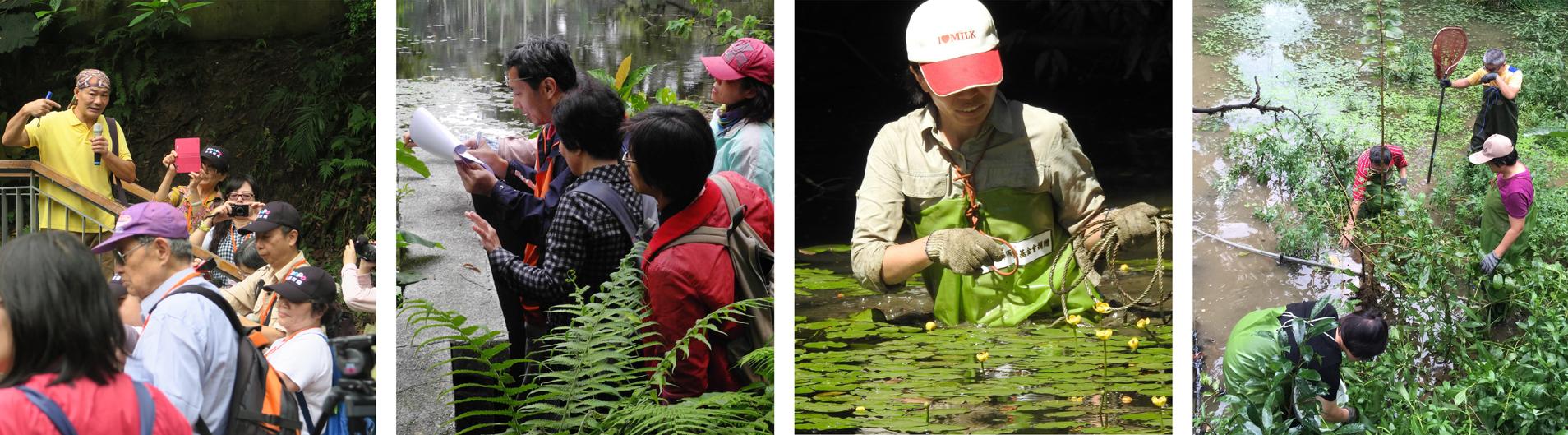 圖3.志工參與棲地維護情形