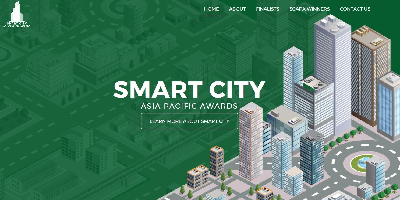 圖1:亞太區智慧城市大獎(SCAPA)投票網站頁面