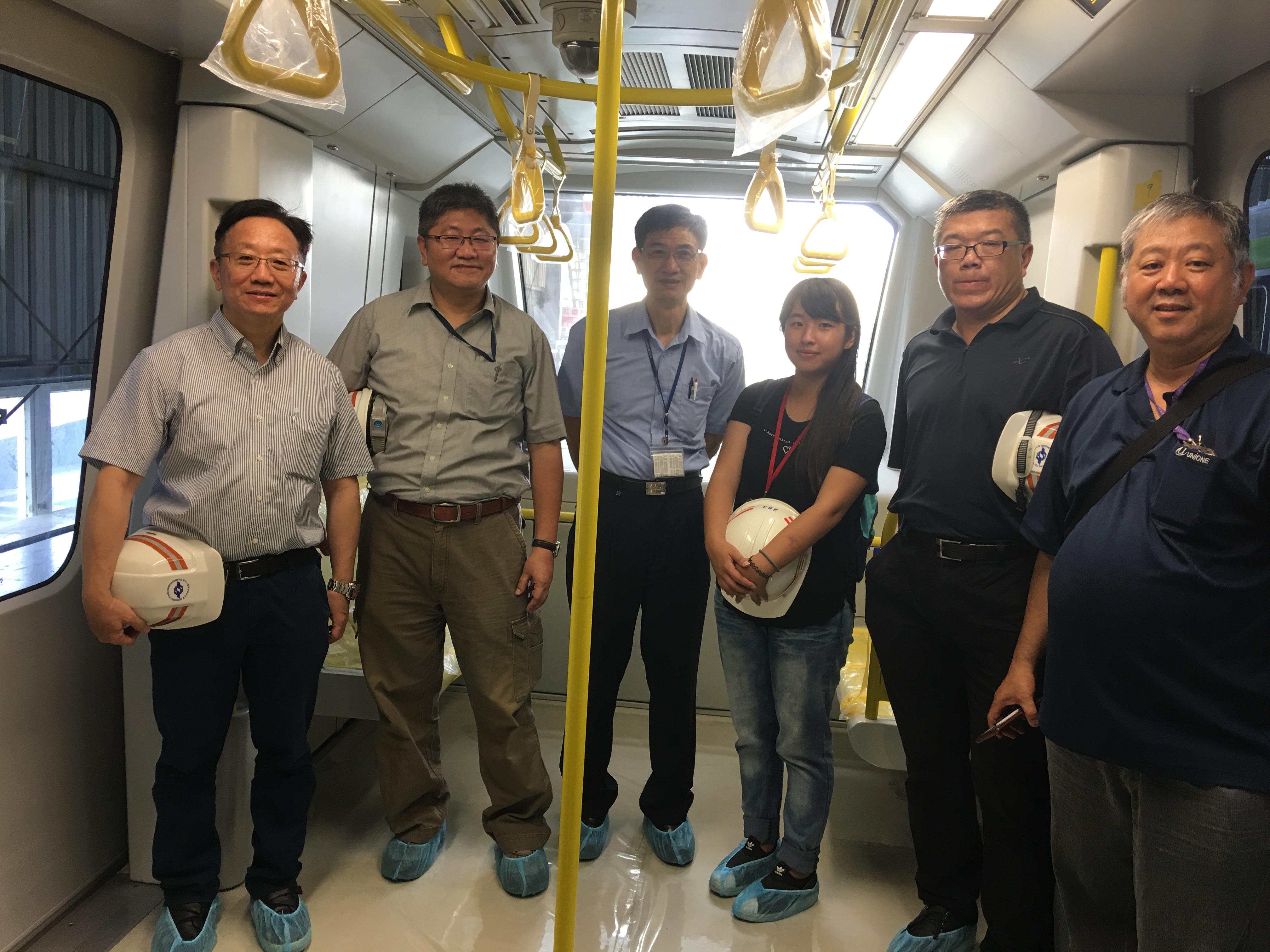 實習生至台灣車輛公司參觀