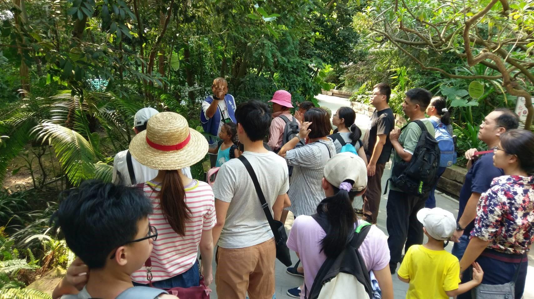 圖8.臺北典藏植物園開辦相關主題活動。