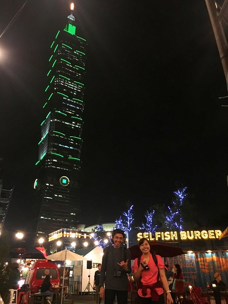Prihandoko和Harianty遊西門商圈、信義商圈,大讚臺北購物商圈好時尚