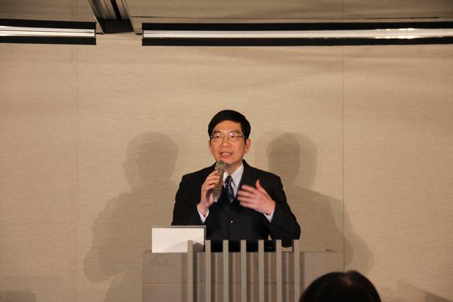 蘇榮淇理事長代表地政士發聲