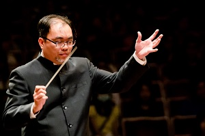 Cheng Li-pin is set to serve as new principal of the Taipei Chinese Orchestra. (Photo courtesy of Taipei Philharmonic Youth Orchestra)