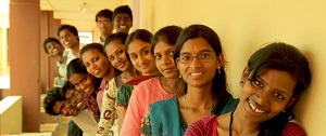 """. The Backward Class documentary follows the first """"untouchable"""" Grade 12 students at Shanti Bhavan School as they prepare to sit their final exams. (Photo courtesy of CNEX Foundation)"""