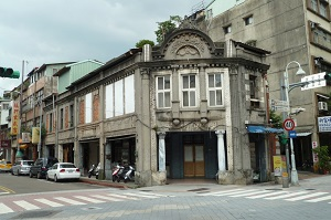 . Located at the intersection of Sec. 2, Guiyang St. and Xiyuan St., the Zhaobei Hospital is considered one of the most famous hospitals in the Wanhua District during the period of Japanese rule from 1895 to 1945. (Photo courtesy of the Department of Cultural Affairs)