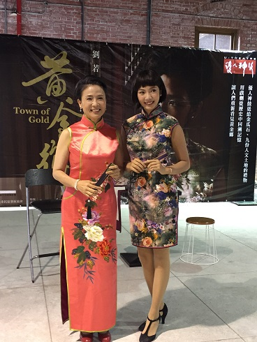 2.Chang Fan-yu (First Right), who portrayed protagonist Sophie in the Mandarin version of the Broadway musical Mamma Mia! in China, will also attend the one-month course in October.