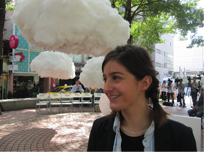 Caroline Escaffre-Faure-Put your head in the cloud and you are alone to daydream).