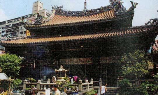 Longshan Temple, Mengjia