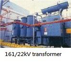 161/22kV transformer