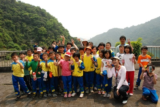 Specific water district school participating outdoor learning activity