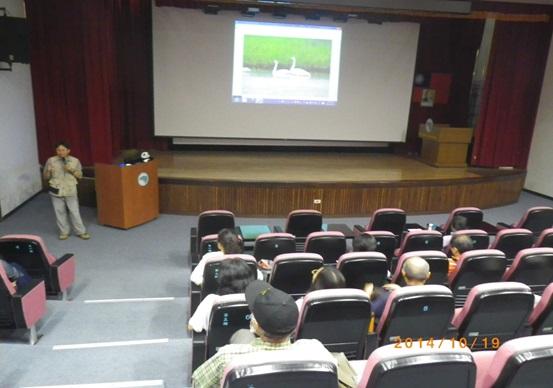 Doctor Chen gives presentation