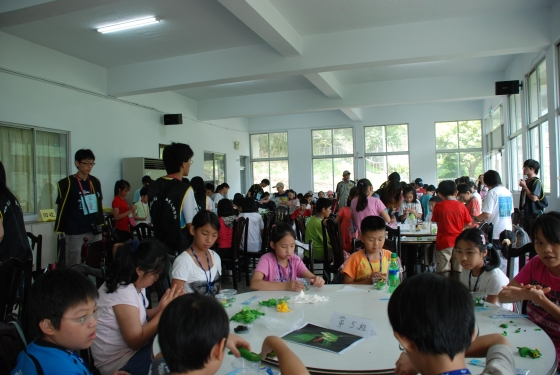 The participants from the higher grades of the elementary school enjoyed a great day in their summer vacation (July 2)