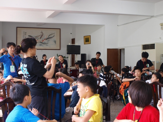 The participants from the higher grades of the elementary school enjoyed a great day in their summer vacation (July 3)