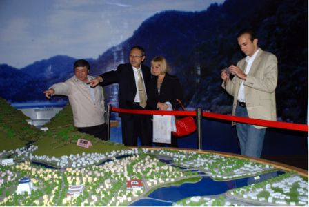 Two sides exchanged opinions about the reservoir operation, management, water resources utilization.