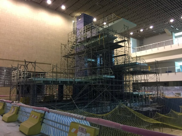 Photo 2 of current Shih-hsin Hall Diving Pool