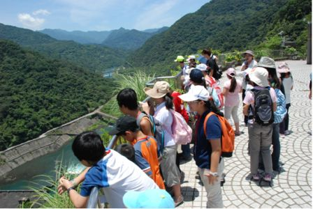 Pic2:Ecology camp of Feitsui reservoir (2010)