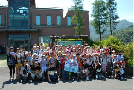 Pic3:Ecology camp of Feitsui reservoir (2010)