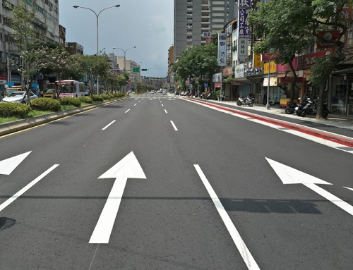 Pedestrian environment improvement project on sections 5 and 6 of Roosevelt Road