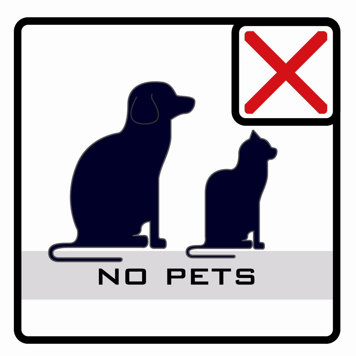 【icon】禁止攜帶寵物
