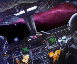 宇宙探險模擬圖