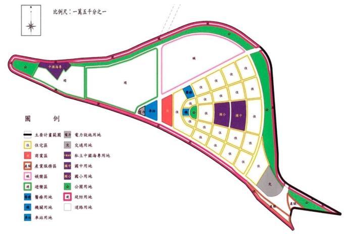 社子島地區-開發範圍