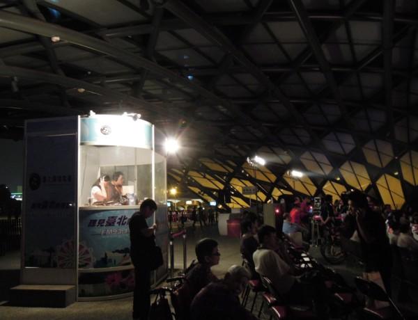 (另開視窗)於花博舞蝶館架設行動播音室