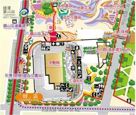 圓山公園區路線