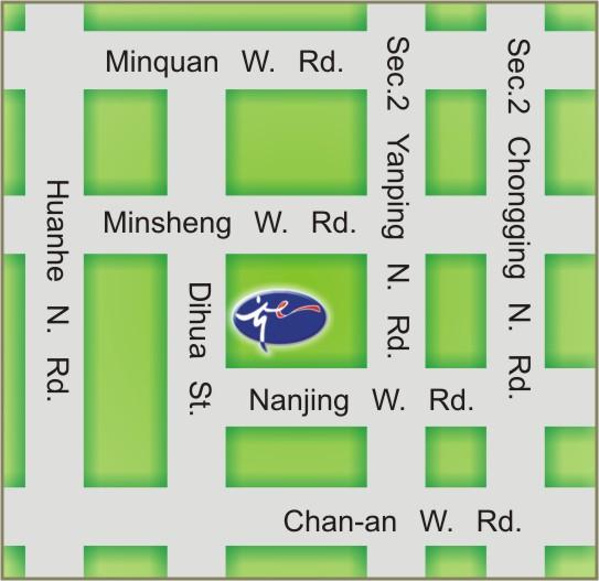 DaDaoCheng Theater map