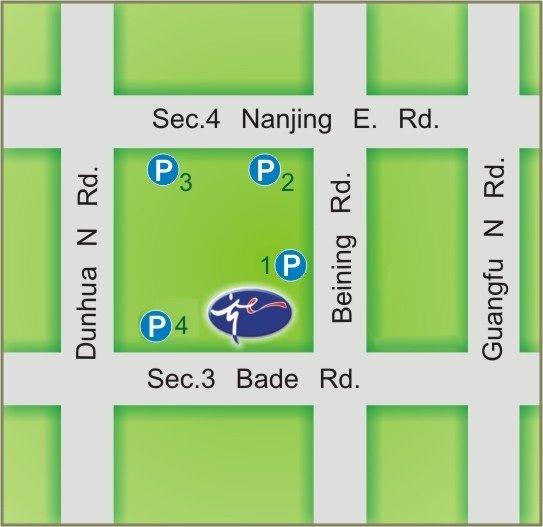 Taipei City Arts Promotion Office map