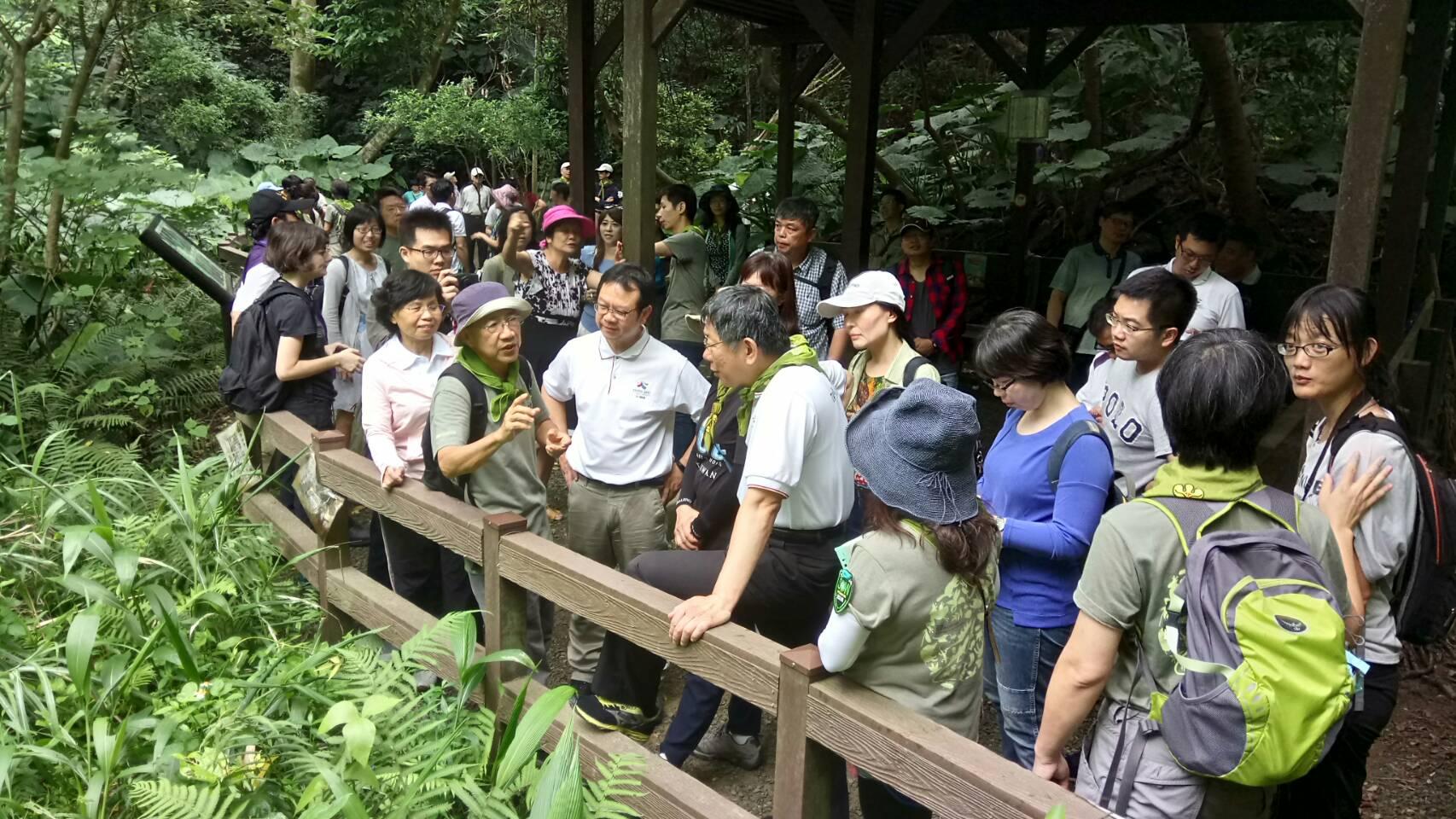 市長走讀富陽生態公園 (2)