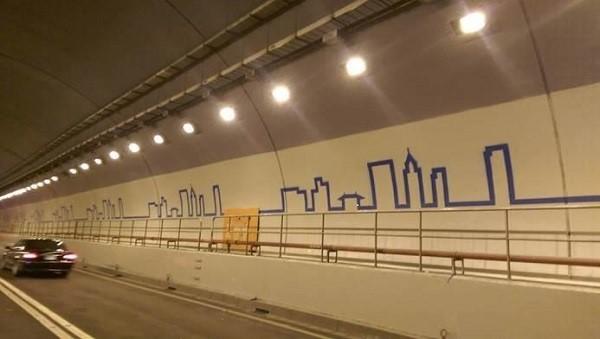 信義快速道路隧道美化工程