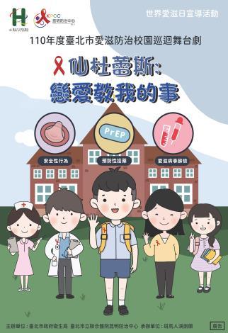 110年度臺北市愛滋防治戲劇宣導