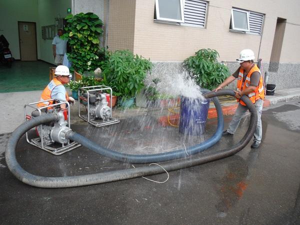 移動式抽水機測試
