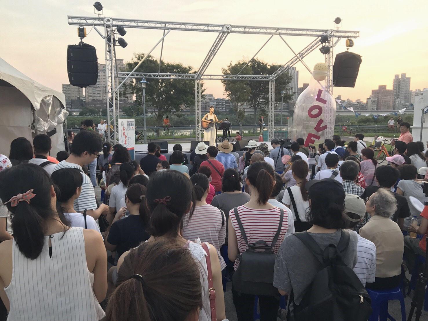 2017台北河岸音樂季系列活動最終回,本週六古亭河濱公園開唱