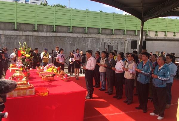 柯市長及林副市長與各級民意代表等共同上香祝禱