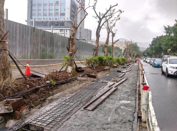 第3階段人行道退縮、側溝改建及路面銑鋪事宜