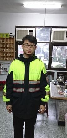 北投分局永明所警員鄭皓陽