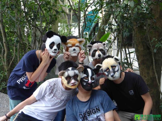 動物特製面具[另開新視窗]