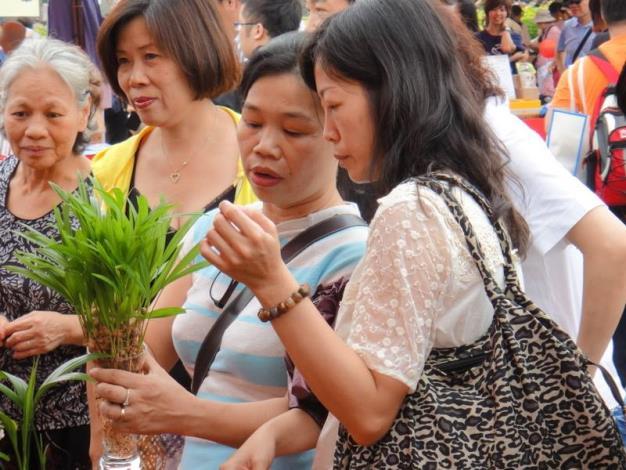 民眾參與盆栽志工的活動-2