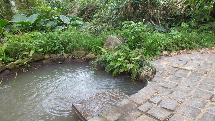 百年古圳洗衣池