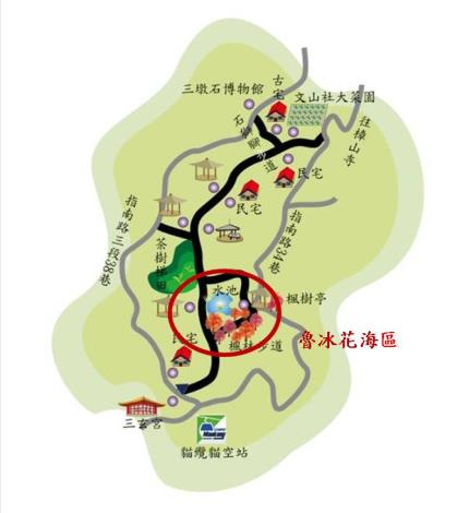 樟樹步道地圖