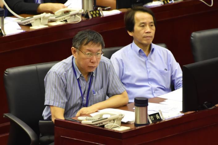 1050920市長施政報告與質詢及答覆新聞照片