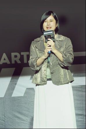 圖2:臺北市資訊局陳慧敏主任秘書出席「WirForce 2016」活動致詞[開啟新連結]