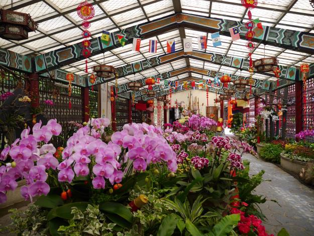 圖1.「春節花卉展」於106年1月28日展出至106年2月28日[開啟新連結]
