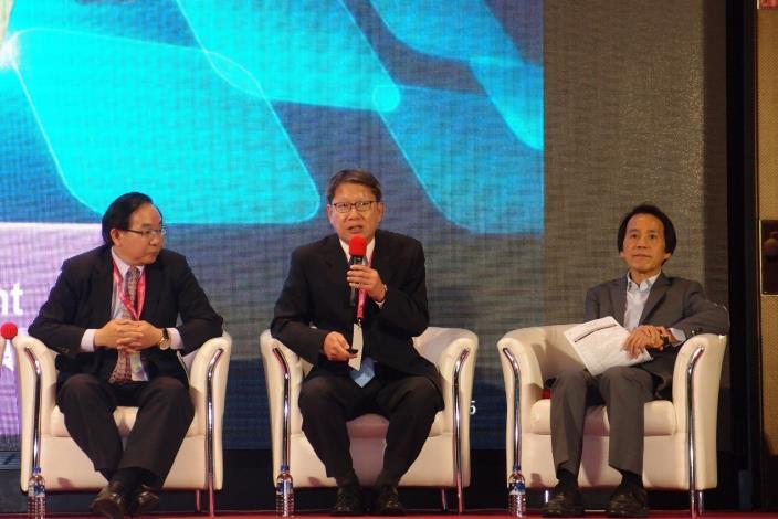 圖說:新北市政府葉惠青副市長分享智慧城市發展現況[開啟新連結]