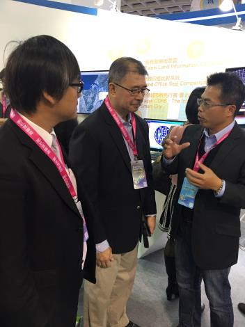 圖3:菲律賓科技部部長蒞臨臺北願景館。