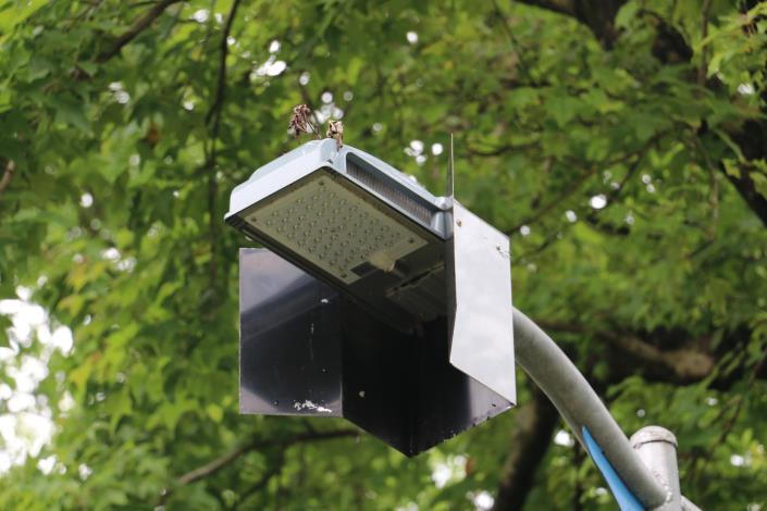 3木柵公園LED燈加裝遮光板