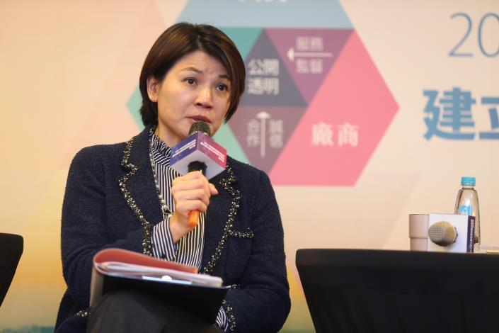 與談貴賓:美商鄧白氏臺灣區CEO孫偉真總經理